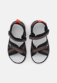 Viking - LOPPA UNISEX - Walking sandals - black/dark grey - 3