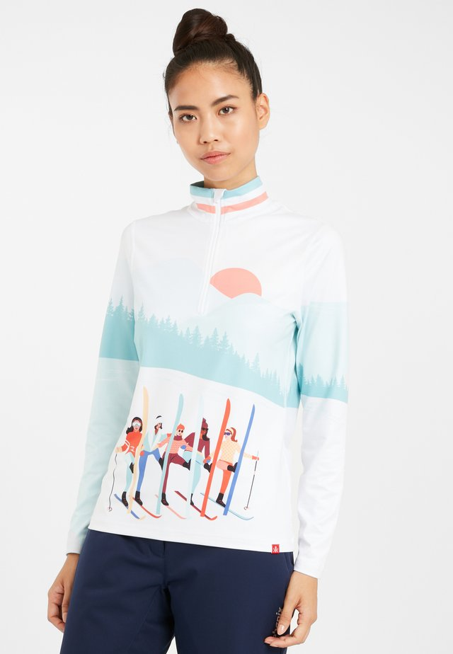 Long sleeved top - snow
