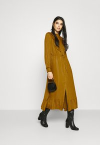 Fabienne Chapot - FIA CATO DRESS - Day dress - mustard - 1