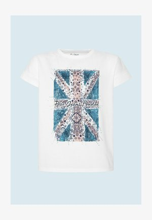 Print T-shirt - optic weiss