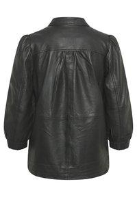 Part Two - FREYJAPW - Button-down blouse - black - 8