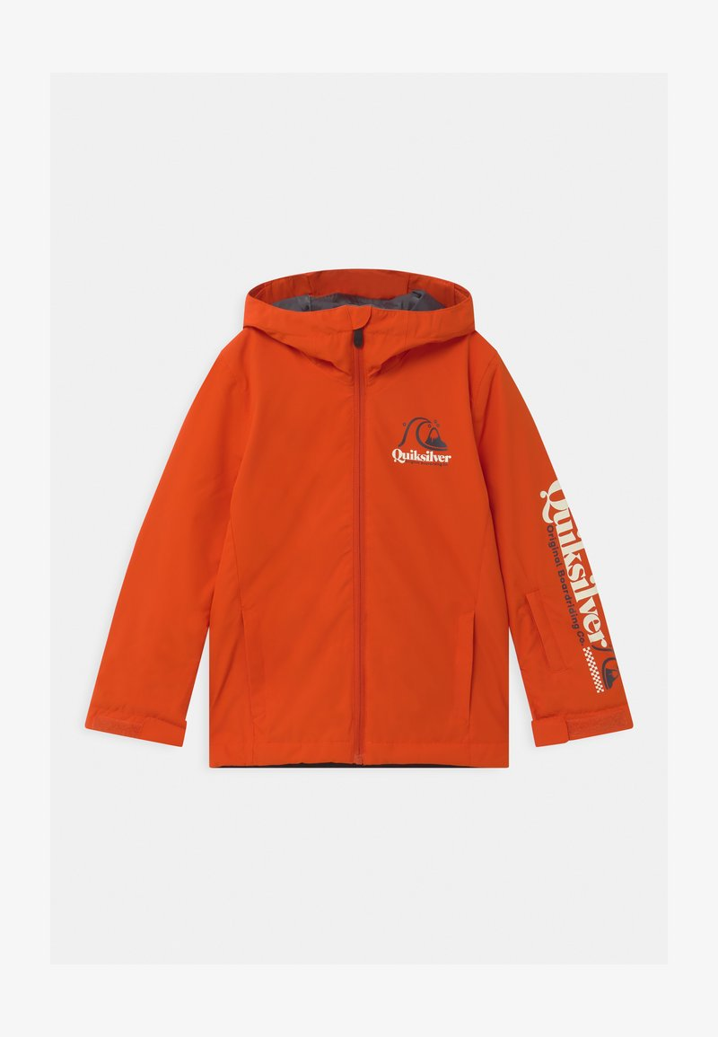 Quiksilver - IN THE HOOD UNISEX - Snowboard jacket - pureed pumpkin