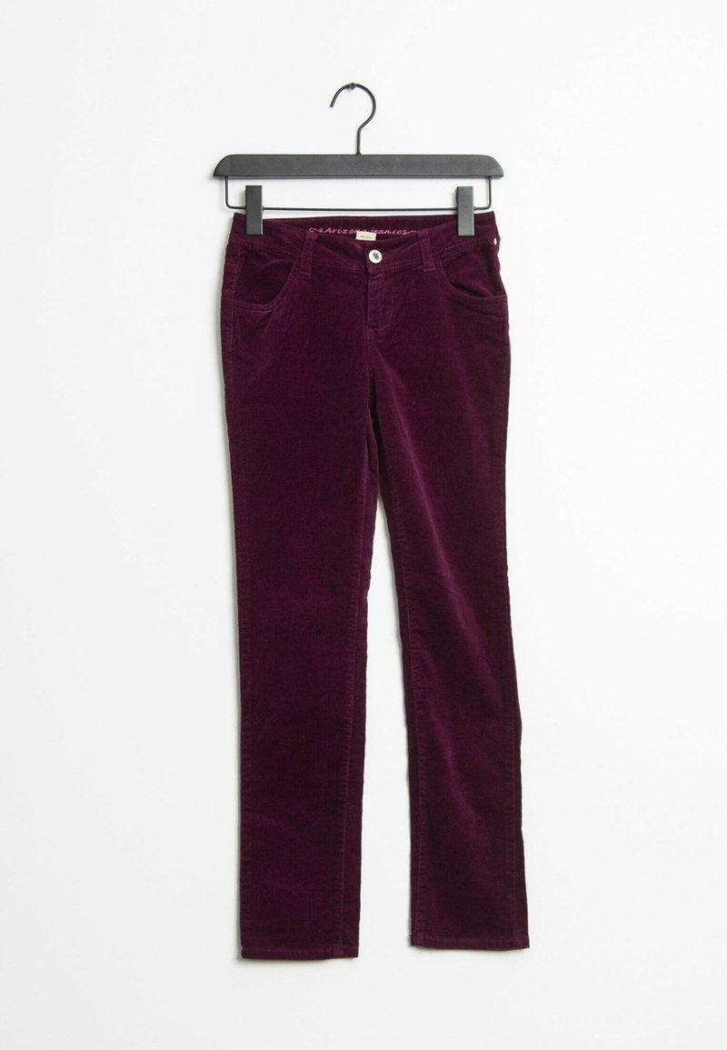 ARIZONA - Trousers - purple
