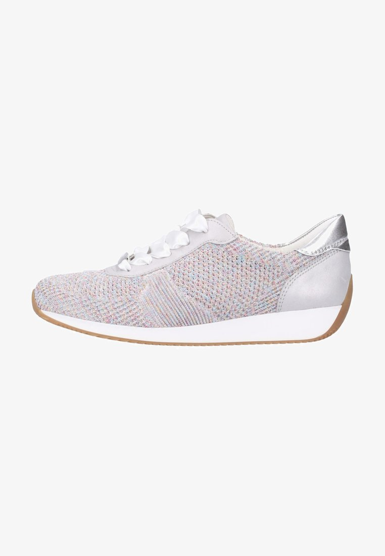 ara - Trainers - candy-white/sasso/ silver