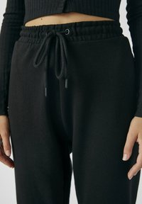 PULL&BEAR - Tracksuit bottoms - black - 4