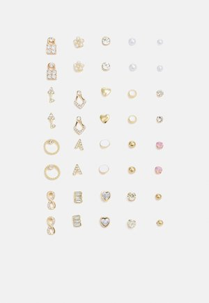 PCQUY EARSTUDS KEY 20 PACK - Naušnice - gold-coloured