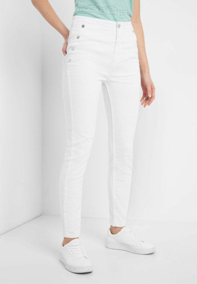 Jeans Skinny Fit - weiß
