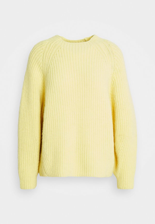 WIKA JUMPER - Sweter - gelb
