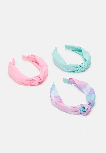 GIRL HEAD BAND 3 PACK - Haaraccessoire - multicolor/candy pink/aruba blue