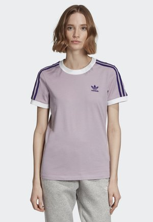 STRIPES T-SHIRT - Print T-shirt - purple