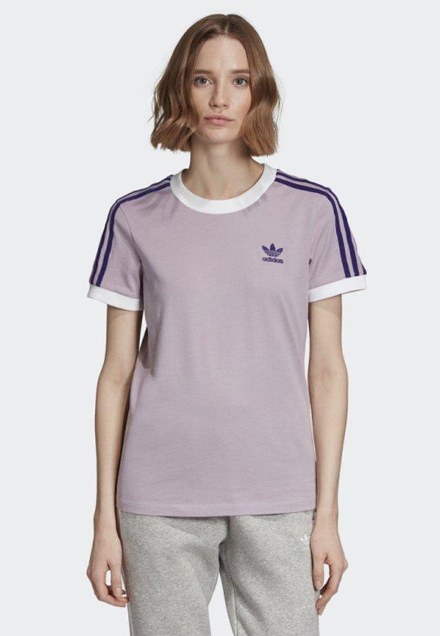 STRIPES T-SHIRT - T-shirts print - purple