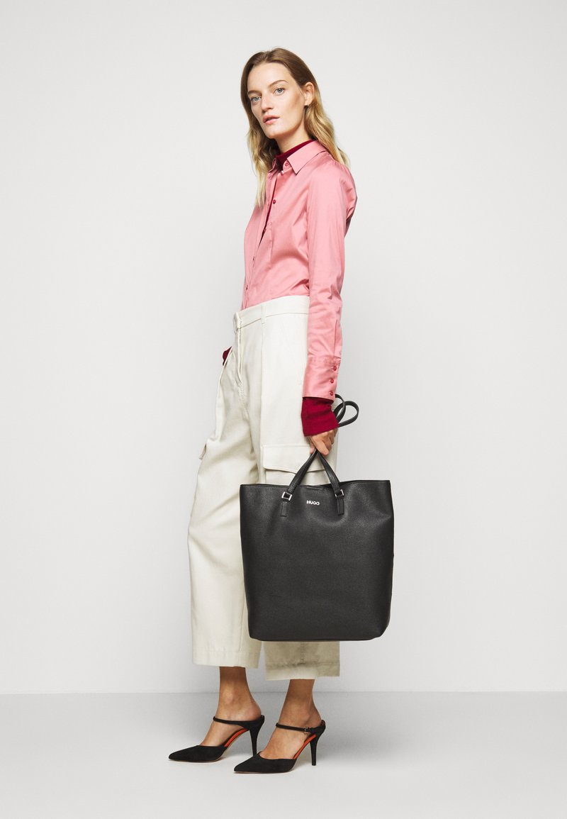 HUGO - DOWNTOWN - Shopping Bag - black