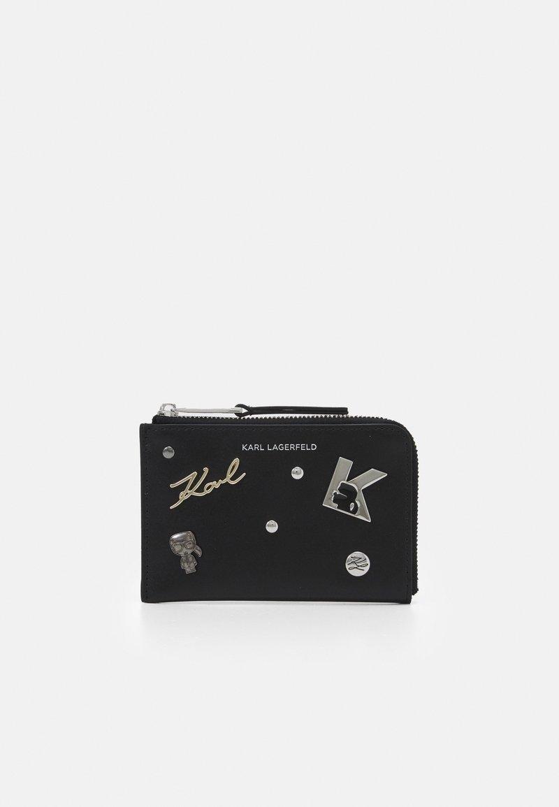 KARL LAGERFELD - SEVEN PINS ZIP - Wallet - black