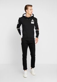 Alpha Industries - SPACE CAMP HOODY - Hoodie - black - 1