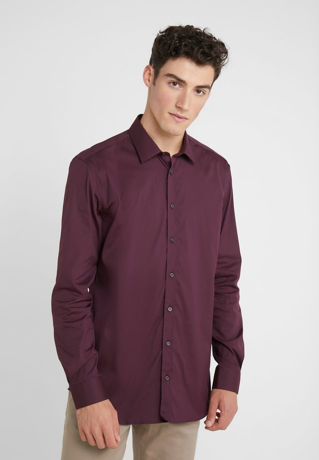 JIM STRETCH SLIM FIT - Formal shirt - aubergine