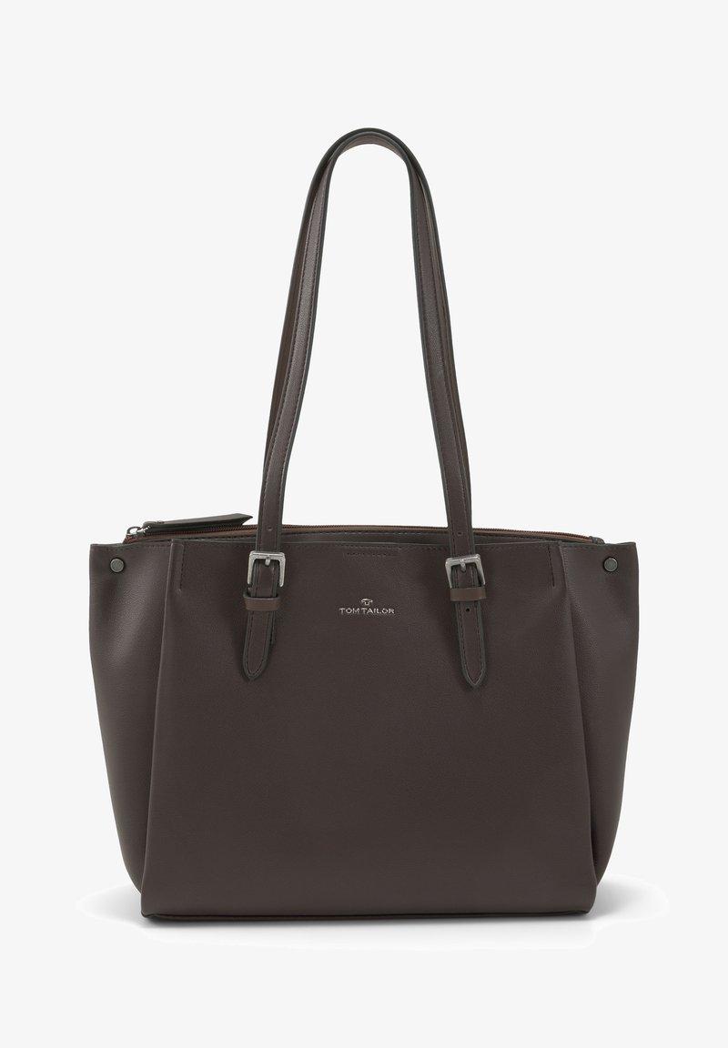 TOM TAILOR - Tote bag - dark brown