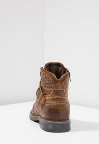Bugatti - Lace-up ankle boots - cognac - 3