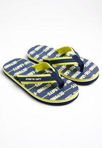 WE Fashion - T-bar sandals - dark blue - 1