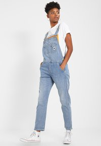 Carhartt WIP - OVERALL - Tuinbroek - blue light stone washed - 1
