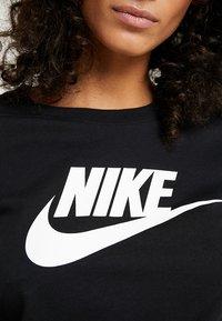 Nike Sportswear - TEE ICON FUTURA - Camiseta estampada - black/(white) - 4