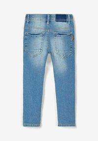Name it - Straight leg jeans - light blue denim - 2
