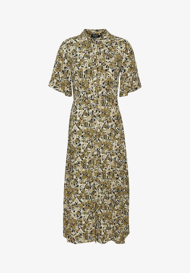 SLINDIANA RAFINA  - Sukienka koszulowa - multifloral print ermine