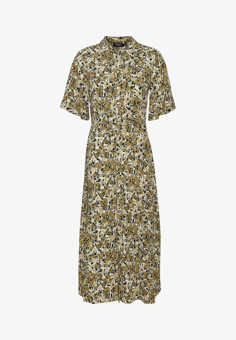 Soaked in Luxury - SLINDIANA RAFINA  - Sukienka koszulowa - multifloral print ermine