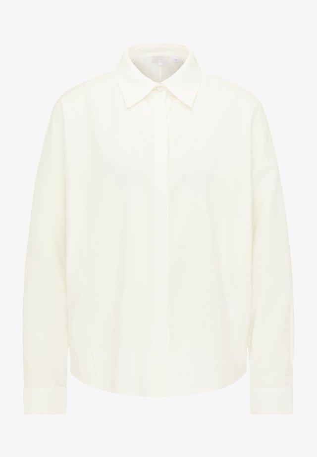 Overhemdblouse - weiß