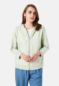 LC Waikiki - Zip-up sweatshirt - green - 5