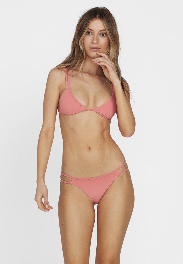 SIMPLY RIB HIPSTER BIKINI BOTTOM - Bikini pezzo sotto - pink