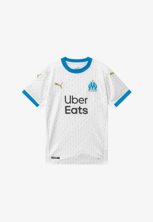 OLYMPIQUE MARSAILLE HOME REPLICA - Club wear - white/bleu azur