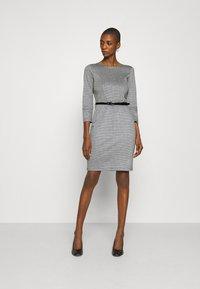 Anna Field - Shift dress - black/white - 0
