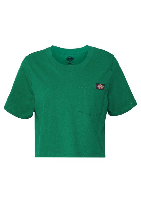 Dickies ELLENWOOD - T-shirt basic - emerald Kolor jednolity Odzież Damska EGRE ZW 1
