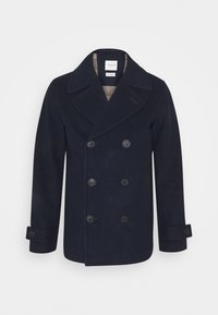 Selected Homme - SLHSUSTAINABLE ICONICS PEACOAT  - Classic coat - sky captain - 4