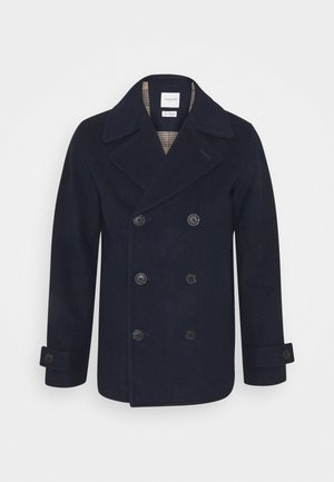 SLHSUSTAINABLE ICONICS PEACOAT  - Mantel - sky captain