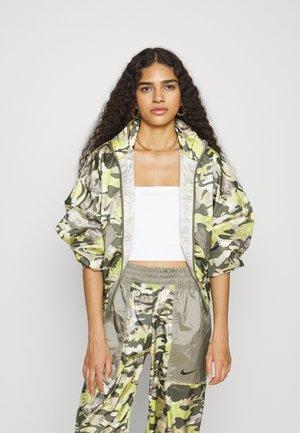 Summer jacket - cargo khaki/light army/medium olive/black