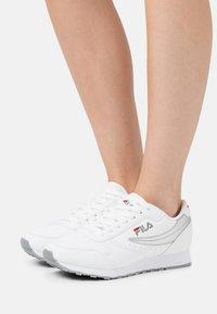 Fila - ORBIT - Trainers - white/silver - 0