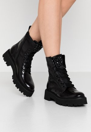 POWER - Bottines à plateau - schwarz