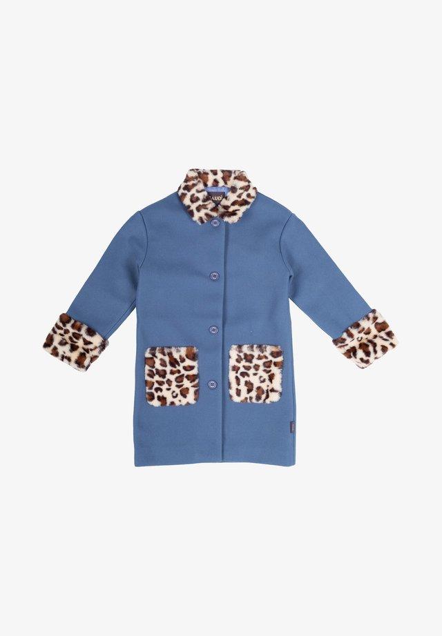 Cappotto invernale - azzurro