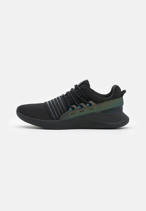 CHARGED BREATHE OIL - Sports shoes - black