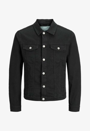 JJIALVIN - Denim jacket - black