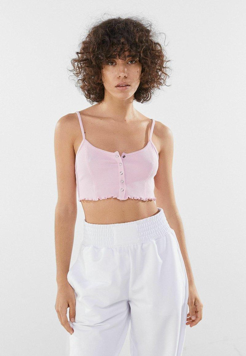 Bershka - Top - pink