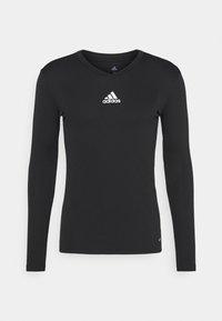 adidas Performance - TEAM BASE TEE - T-shirt à manches longues - black - 4
