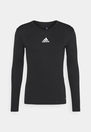 TEAM BASE TEE - Long sleeved top - black