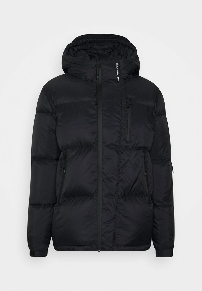 Calvin Klein Jeans - HIGH FILLED PUFFER - Down jacket - black