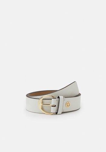 Belt - optic white/gold-coloured