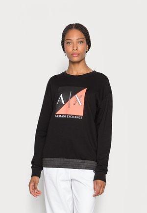 FELPA FRENCH TERRY - Sweatshirt - black
