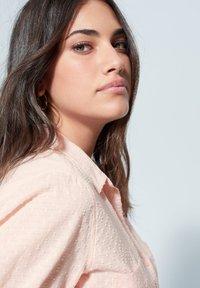 Violeta by Mango - PLANAF6 - Button-down blouse - nude - 3