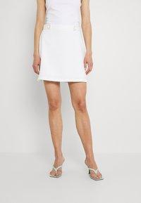 Fashion Union - ROSCOFF SKIRT - Minisukně - white - 0