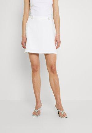 ROSCOFF SKIRT - Mini skirts  - white